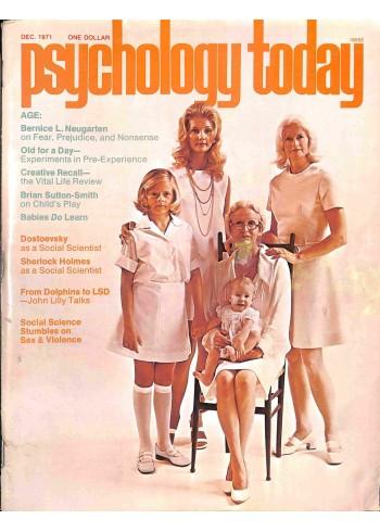 Psychology Today, December 1971