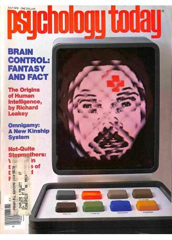 Psychology Today, July 1978