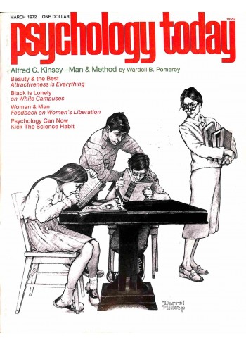 Psychology Today, March 1972