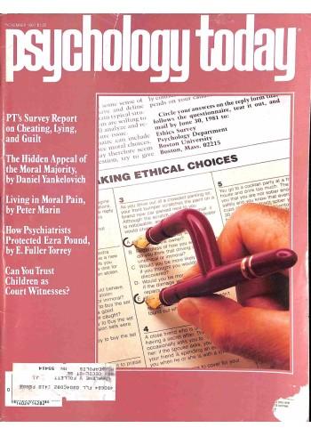 Psychology Today, November 1981