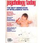 Psychology Today, September 1979