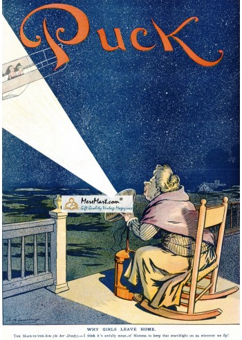 Puck, 1910. Poster Print.