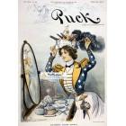 Puck, April 6, 1901. Poster Print.