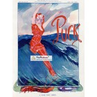 Puck, August 16, 1911. Poster Print. Gordon Ross.