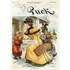 Puck, December, 1896. Poster Print. J.S.Pughe.