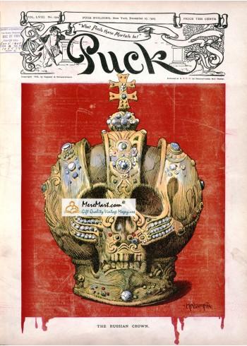 Puck, December 27, 1905. Poster Print. Hassman.