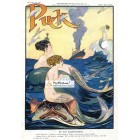 Puck, January 25, 1911. Poster Print.