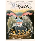Puck, July 4, 1901. Poster Print.