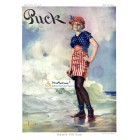Puck, July 4, 1914. Poster Print. W. D. Goldbeck.