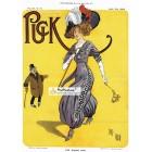 Puck, March 29, 1911. Poster Print. Bert Green.