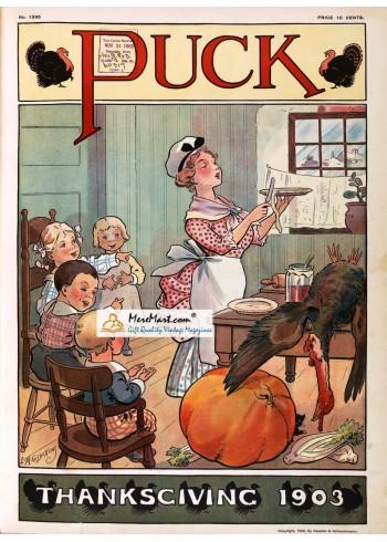 Puck, November, 1903. Poster Print. L.M. Glackens.