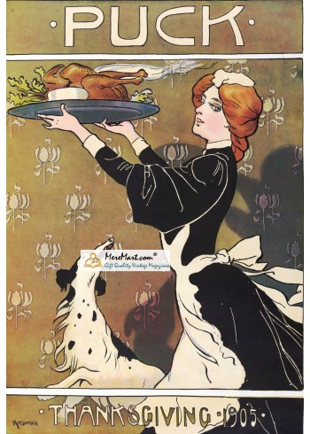 Puck, November, 1905. Poster Print. Hassman.
