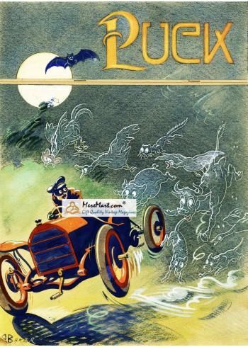 Puck, Pre-1923. Poster Print. Backer.