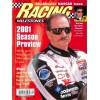 Cover Print of Racing Milestones, April 2001