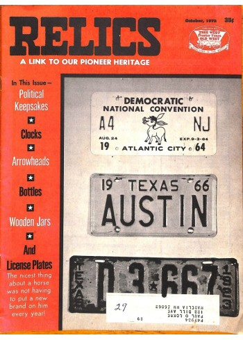 Cover Print of Relics, October 1972