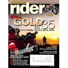 Rider Magazine, April 2009