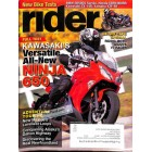 Cover Print of Rider, April 2012
