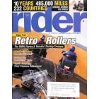 Rider Magazine, August 2004