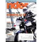 Rider Magazine, August 2009