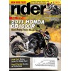 Cover Print of Rider, August 2011
