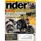 Rider Magazine, August 2011
