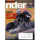 Cover Print of Rider, August 2012