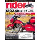 Rider Magazine, December 2011