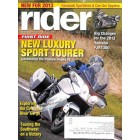 Cover Print of Rider, December 2012