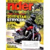 Cover Print of Rider Magazine, January 2011