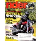 Rider Magazine, January 2011