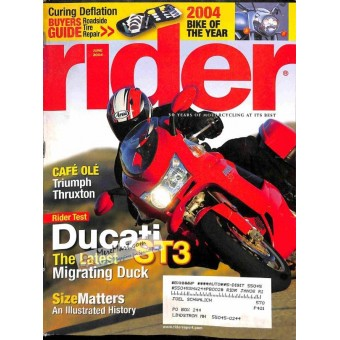 Cover Print of Rider, June 2004