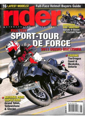 Cover Print of Rider, June 2011