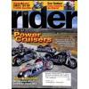 Cover Print of Rider, November 2004