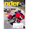 Cover Print of Rider, November 2009