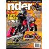 Cover Print of Rider, November 2011