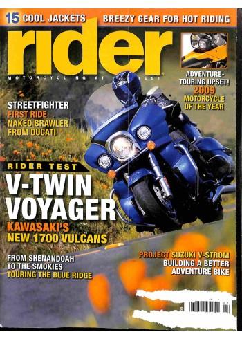 Rider, 2009