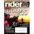 Rider, April 2009