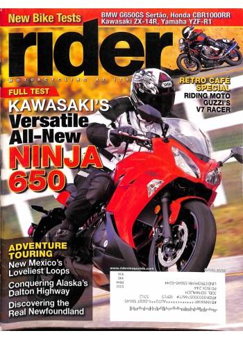 Rider, April 2012