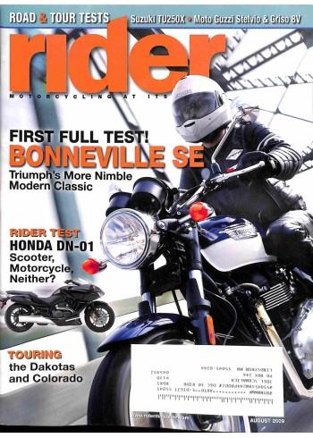 Rider, August 2009