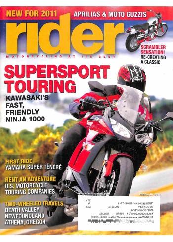 Rider, February 2011