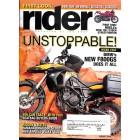 Rider, January 2009