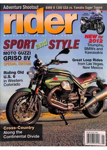 Rider, January 2012