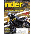 Rider, March 2011