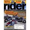Rider, November 2004
