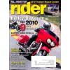 Rider, November 2009