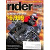 Rider, November 2012