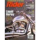 Rider, September 2001