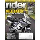 Rider, September 2012