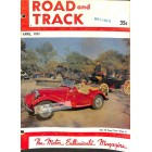 Cover Print of Road and Track, April 1951
