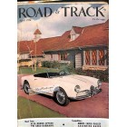Cover Print of Road and Track, April 1956